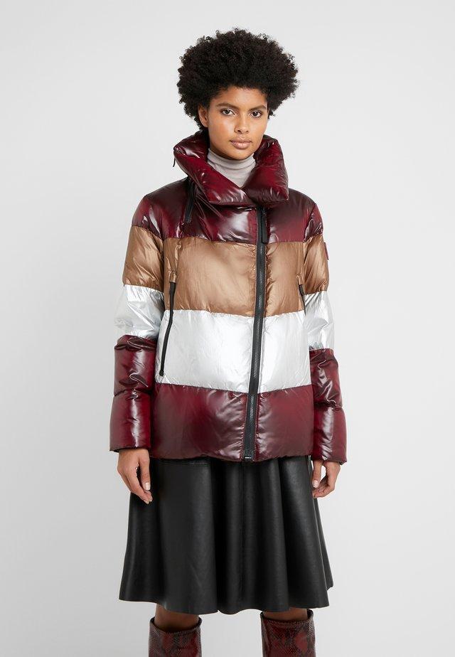CRYOSPHERE JACKET - Down jacket - bordeaux