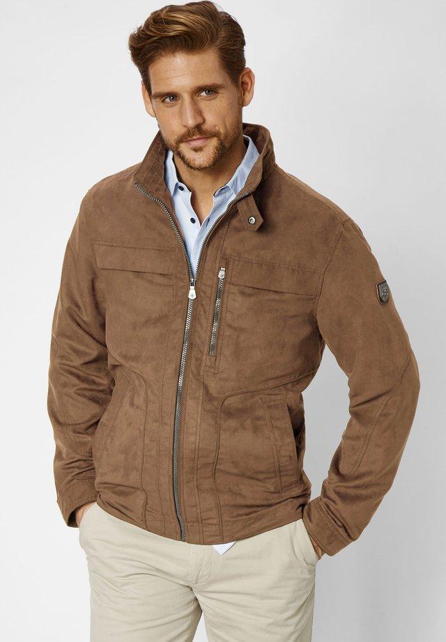 Light jacket - vintage brown