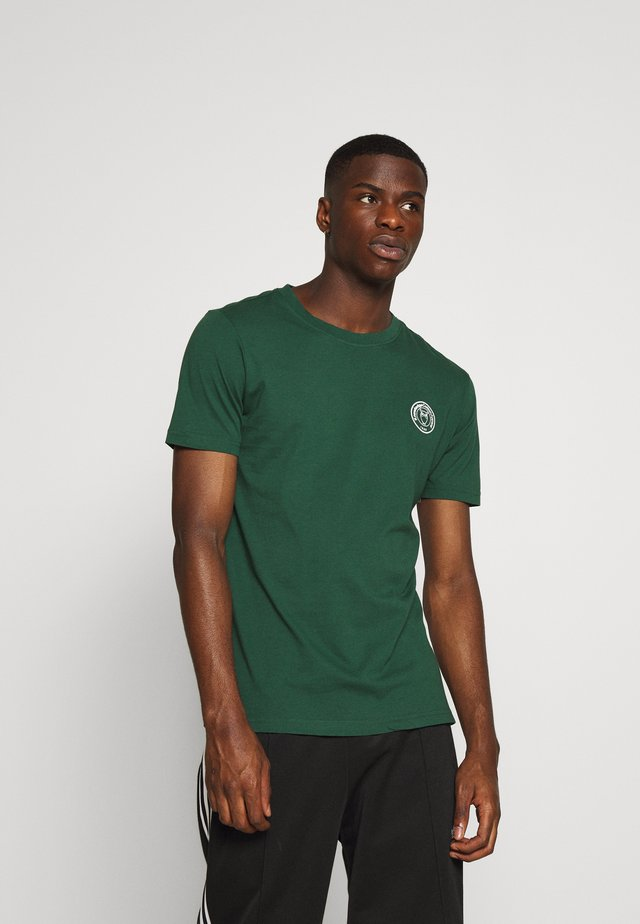 ALDER OWL BADGE TEE - Camiseta estampada - green