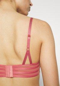 LASCANA - RING BRA - Push-up bra - rosewood - 4