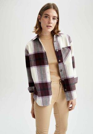 SHACKET DEFACTO - Button-down blouse - bordeaux