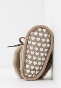 Bergstein - BAMBI LUX - First shoes - taupe/gold - 5