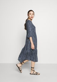New Look Petite - SIOBAN ANIMAL TIER SMOCK MIDAXI - Day dress - blue - 1