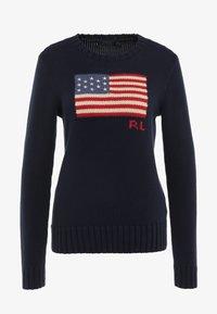 Polo Ralph Lauren - LONG SLEEVE - Jersey de punto - hunter navy - 3