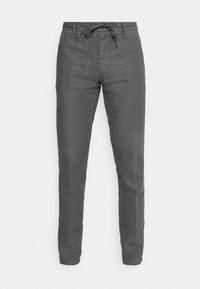 Marc O'Polo - TAPERED FIT PATCHED - Trousers - gray - 3