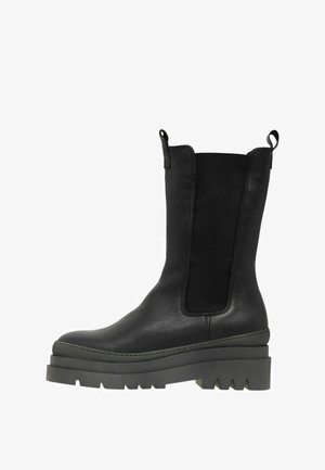 BIADEMA - Platform ankle boots - black