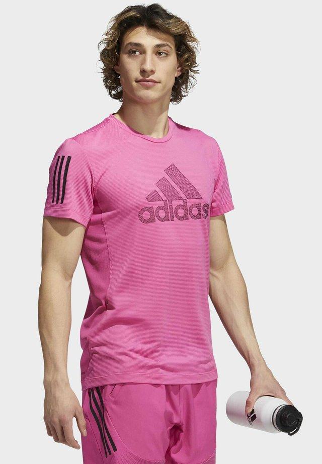 AERO WARRI  - T-shirt print - pink