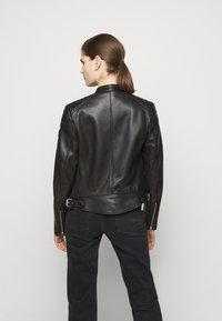 Belstaff - NEW MOLLISON JACKET - Veste en cuir - black - 2