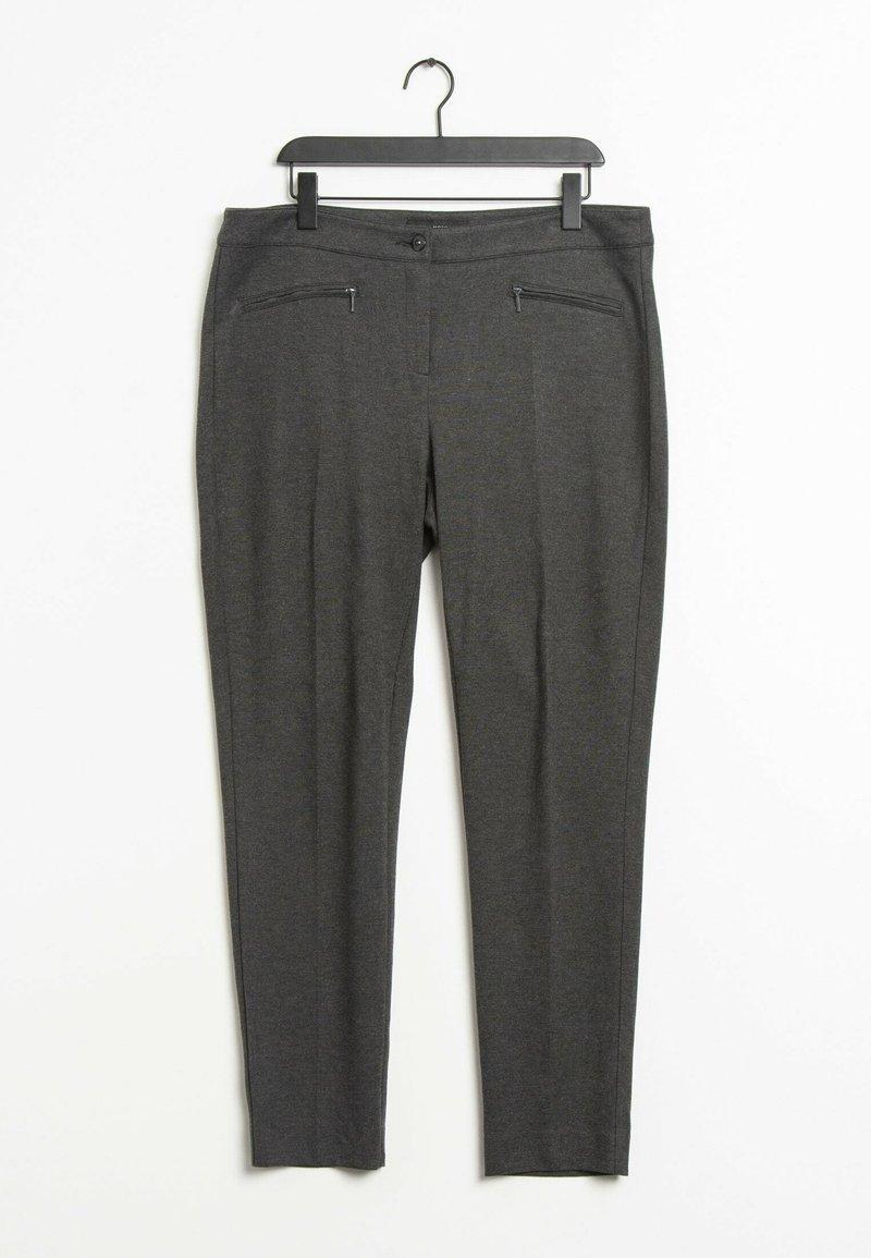 ANNA MONTANA - Trousers - grey