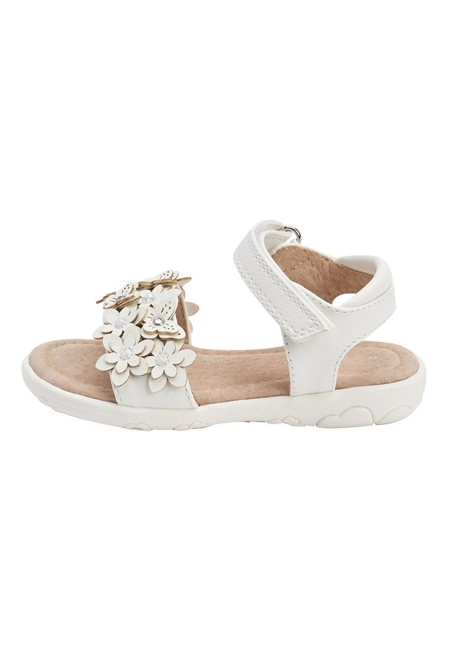PINK 3D FLOWER SANDALS (YOUNGER) - Trekkingsandale - white