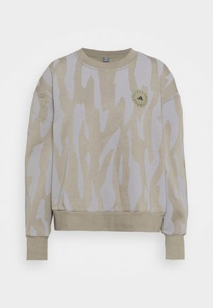Sweatshirt - clay/grey