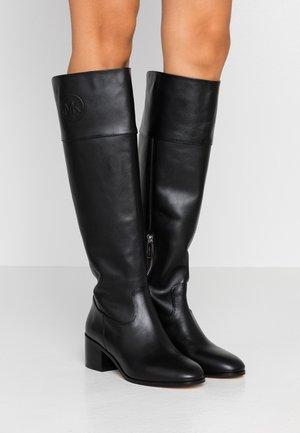 DYLYN BOOT - Vysoká obuv - black