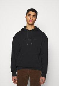 Han Kjøbenhavn - BULKY HOODIE - Sweatshirt - faded black - 0