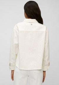 Marc O'Polo DENIM - Denim jacket - multi/bright white - 2