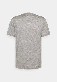 Icebreaker - TECH LITE CREWE OTTER PADDLE - Print T-shirt - grey - 1