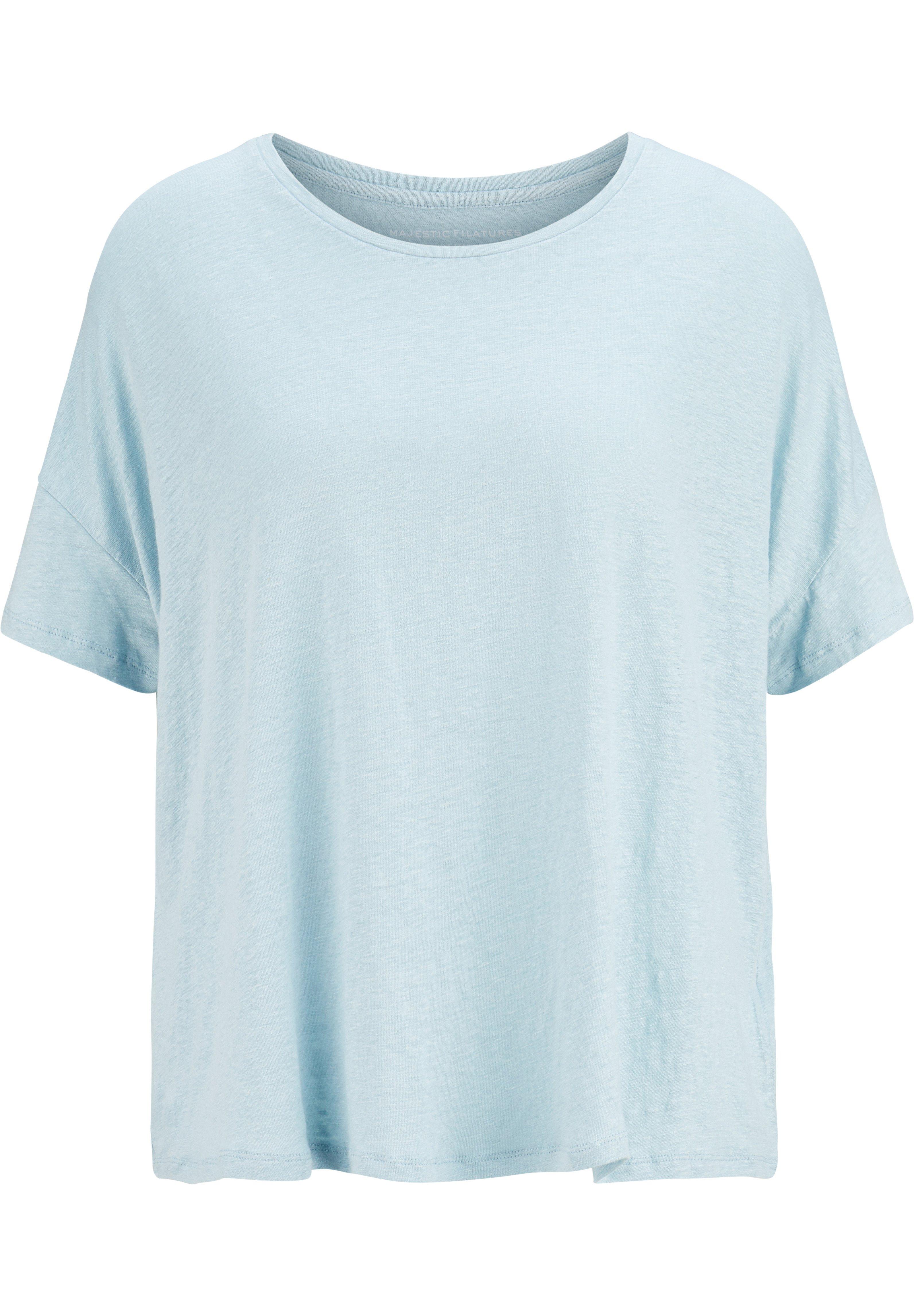 Damen LEINEN - T-Shirt basic