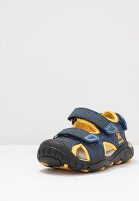 Kamik - SEATURTLE 2 - Walking sandals - navy/citrus/marine/agrumes - 2