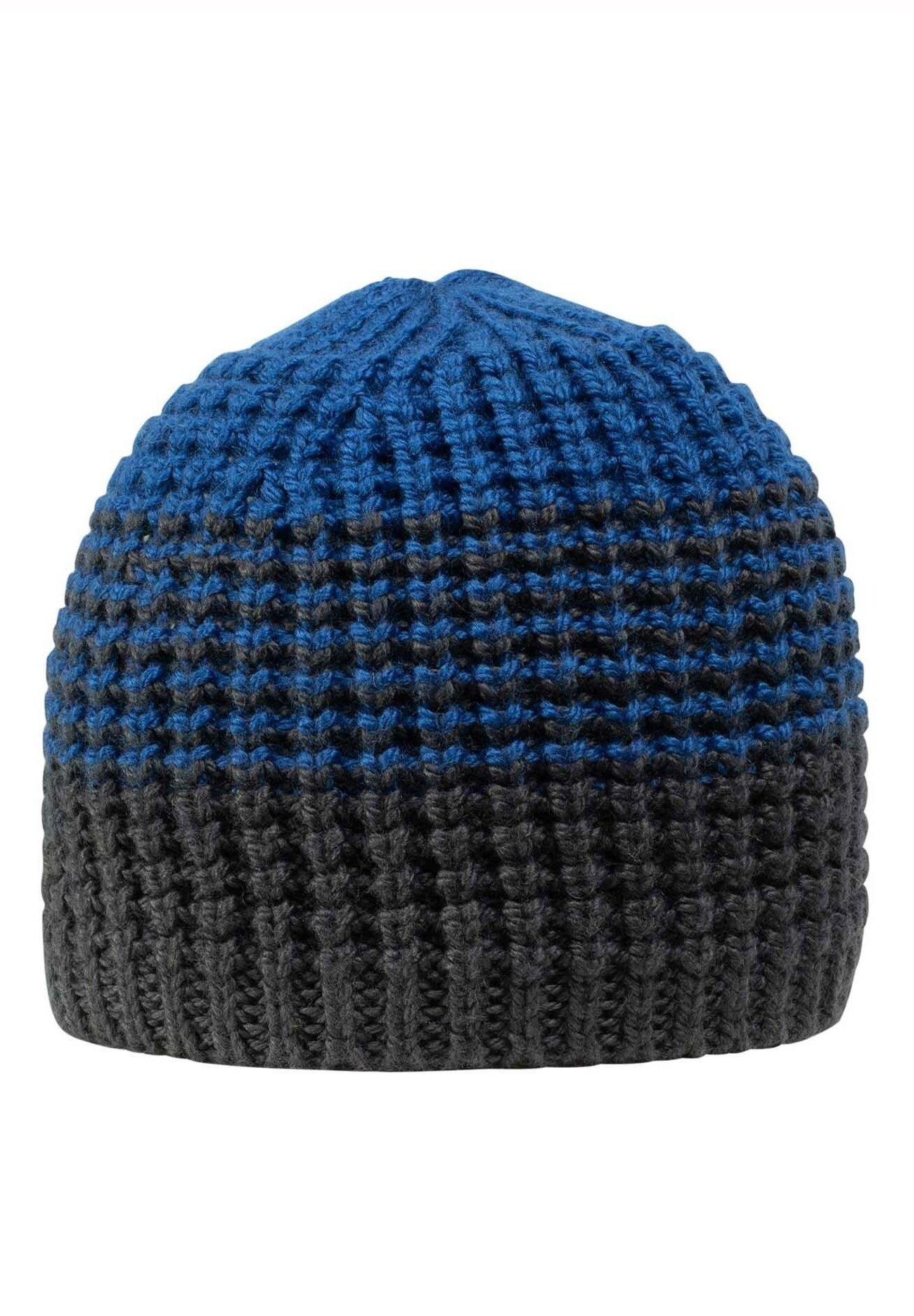 Giesswein Mütze Riepenwand - Traffic Blue/blau