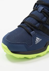 adidas Performance - TERREX AX2R - Hiking shoes - collegiate navy/core black/signal green - 2