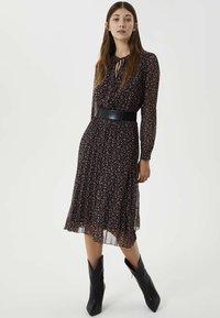 Liu Jo Jeans - WITH BELT - Day dress - black - 0