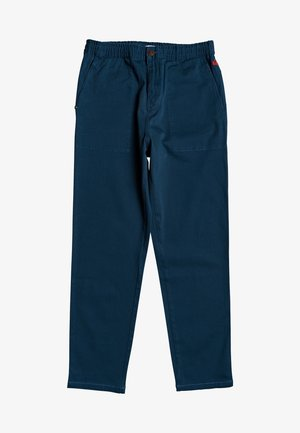 QUIKSILVER™ BEACH PANT - ELASTISCHE STRANDHOSE MIT TAPERED FIT F - Trousers - majolica blue