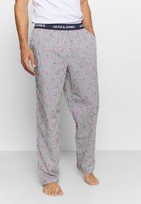 Jack & Jones - JACMIX PANTS - Pyjama bottoms - navy blazer - 0