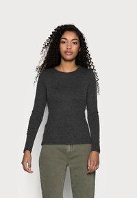Anna Field Petite - Långärmad tröja - mottled grey - 0