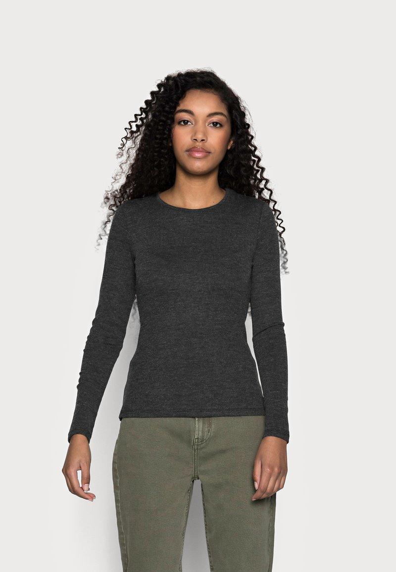 Anna Field Petite - Långärmad tröja - mottled grey