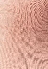 NU-IN - CROSS BACK LONG BODYSUIT - Turnpak - light pink - 2