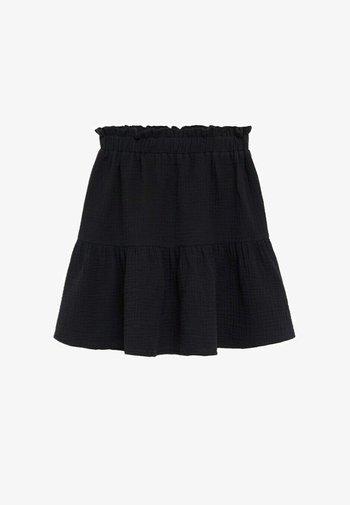 FLORIA - A-line skirt - zwart