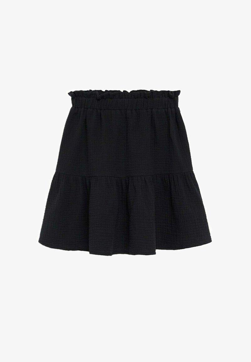 Mango - FLORIA - A-line skirt - zwart