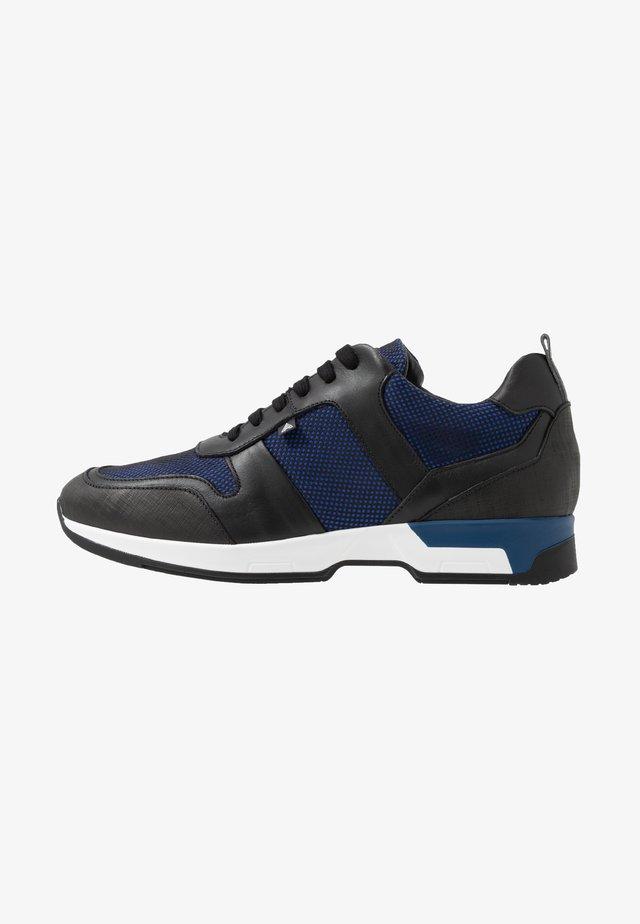 ROSARIO - Sneakers basse - noir/bleu