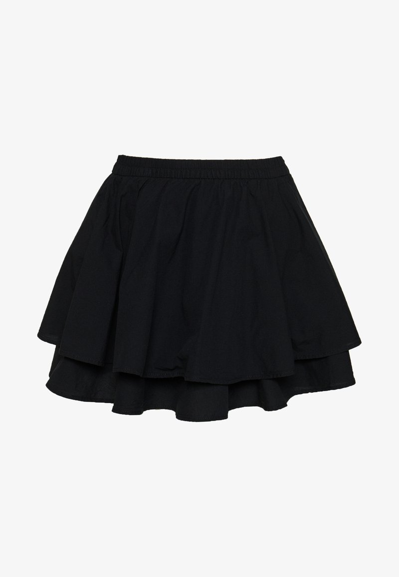 Weekday - KATE SKIRT - Minisukně - black