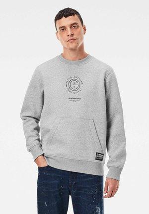 MULTI GRAPHIC POCKET - Sweatshirt - grey heather