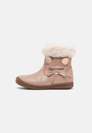 Classic ankle boots - carne