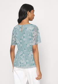 Vila - VIMIRANDA - Print T-shirt - jadeite - 2
