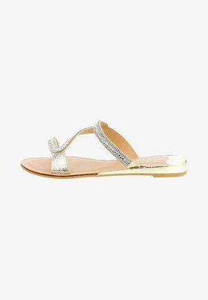 ANZINOVA - Sandály s odděleným palcem - grey