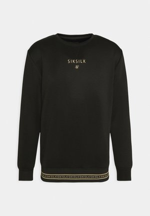 ELEMENT CREW - Sudadera - black/gold