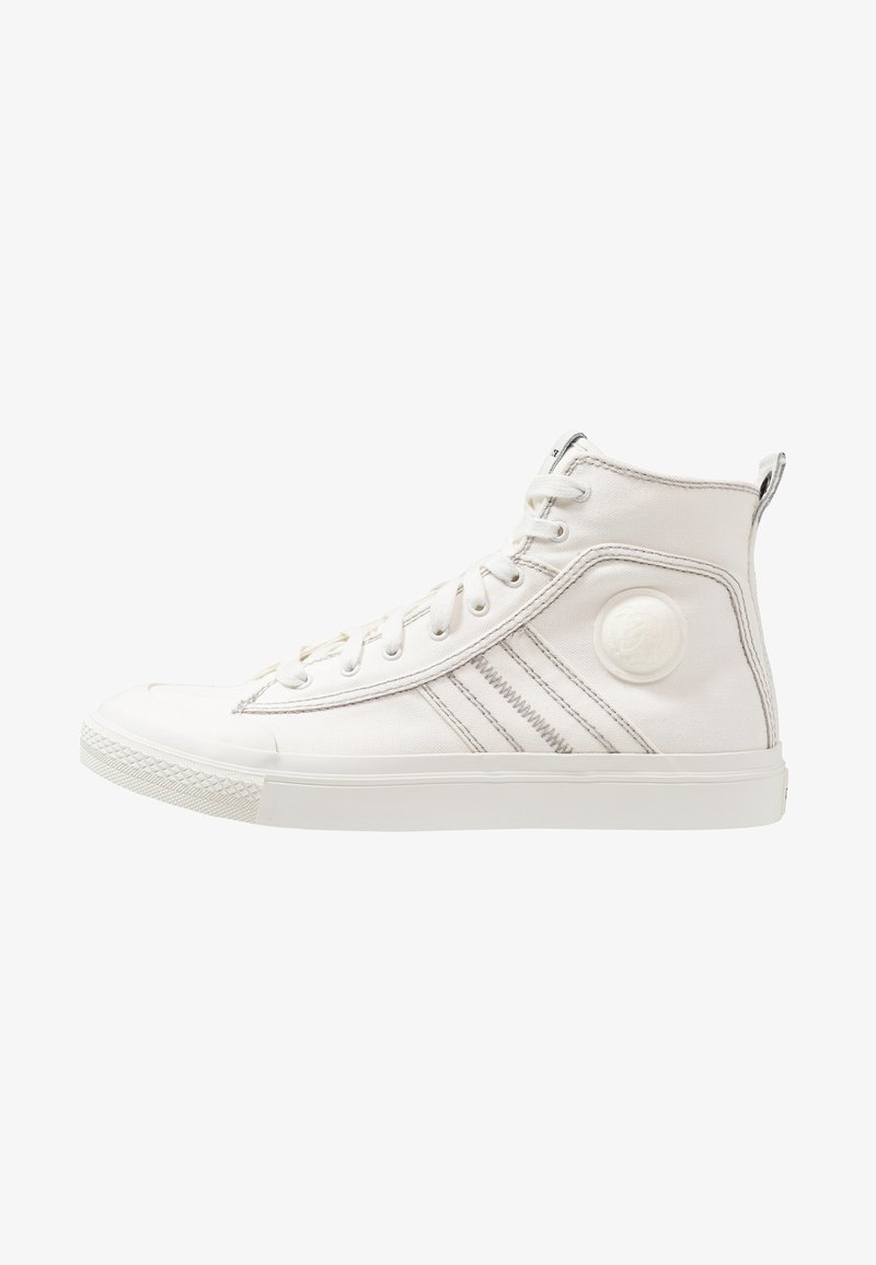 Diesel - S-ASTICO MID LACE - High-top trainers - weiß