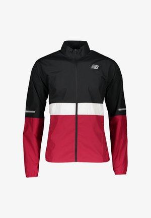 ACCELERATE JACKE RUNNING - Training jacket - schwarzrotweiss