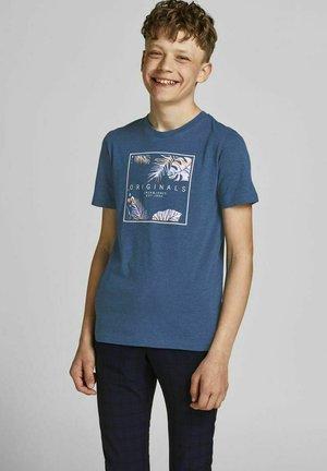 JUNGS TROPENPRINT - Print T-shirt - ensign blue
