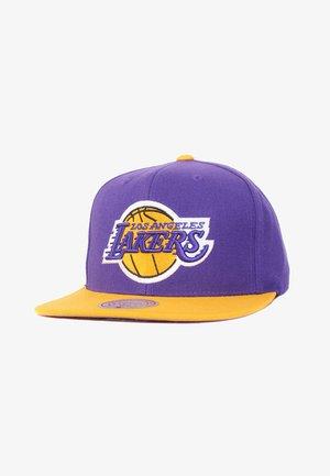 NBA 2 TONE SNAPBACK LA LAKE - Cap - violett