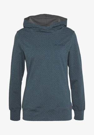 WOMENS TUENNO PULLOVER - Camiseta de manga larga - baltic sea