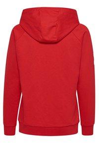 Hummel - HMLGO - Zip-up sweatshirt - true red - 1