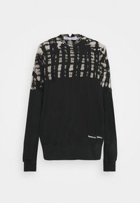 Proenza Schouler White Label - FLUID TIE DYE LONG SLEEVE - Collegepaita - black - 0
