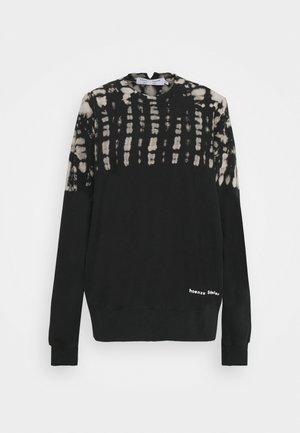 FLUID TIE DYE LONG SLEEVE - Sweatshirt - black