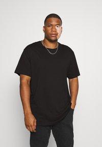 Only & Sons - ONSMATT LONGY TEE 2 PACK  - T-shirt basic - black - 1