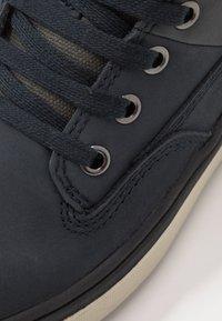 Geox - MATTIAS BOY ABX - Šněrovací kotníkové boty - navy/dark grey - 2