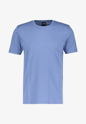 LECCO  - T-shirt basic - stoned blue