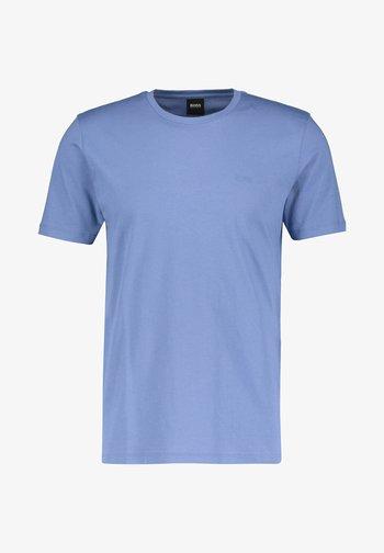 LECCO  - Basic T-shirt - stoned blue